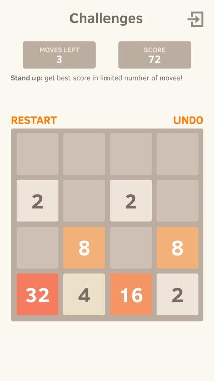 2048 Number Puzzle game screenshot-0