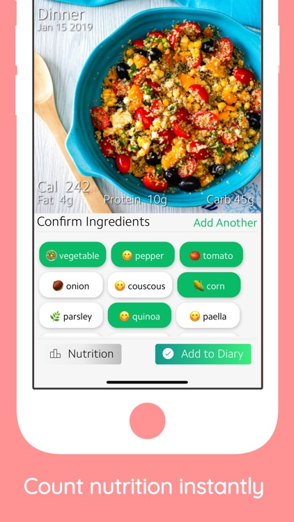 Foodzilla - Nutrition Tracker screenshot-0