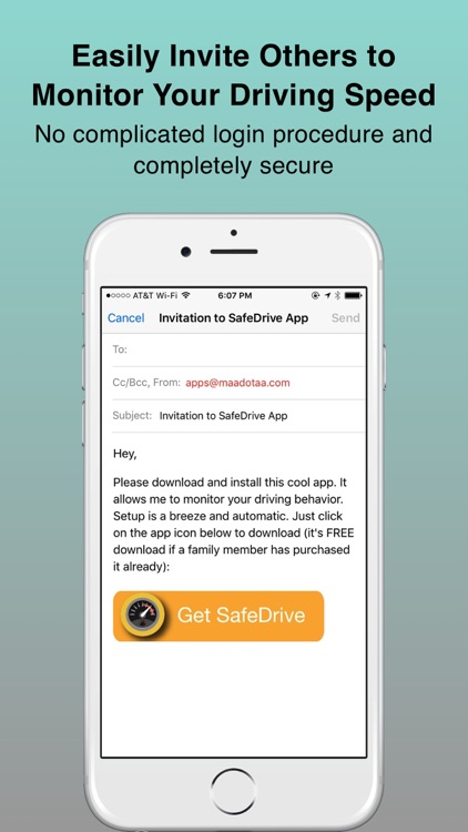 SafeDrive: For Teen Drivers