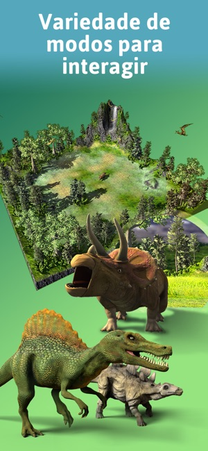 Monster Park: Mundo dinossauro Screenshot