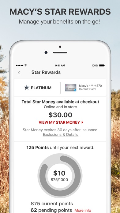 Screenshot for Macy's in United States App Store