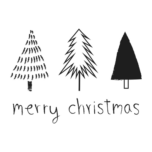 Christmas Hand Drawn Stickers