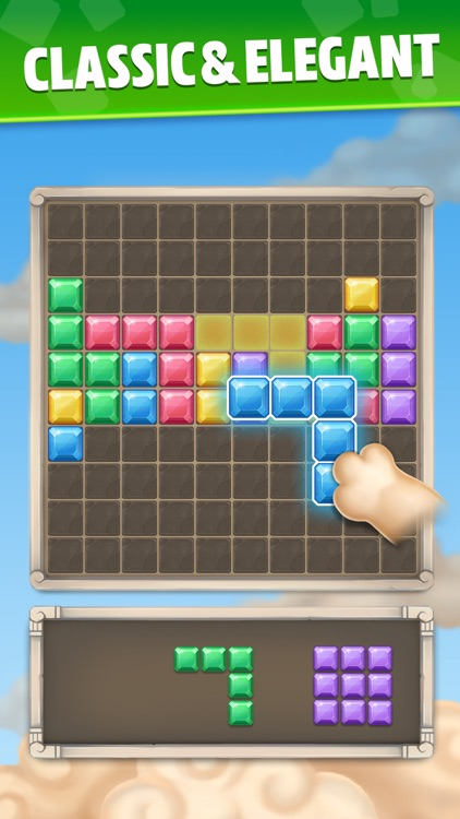 Jewel Block Puzzle Brain Game screenshot-4
