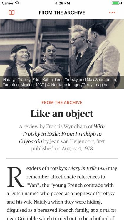 The Times Literary Supplement screenshot-3