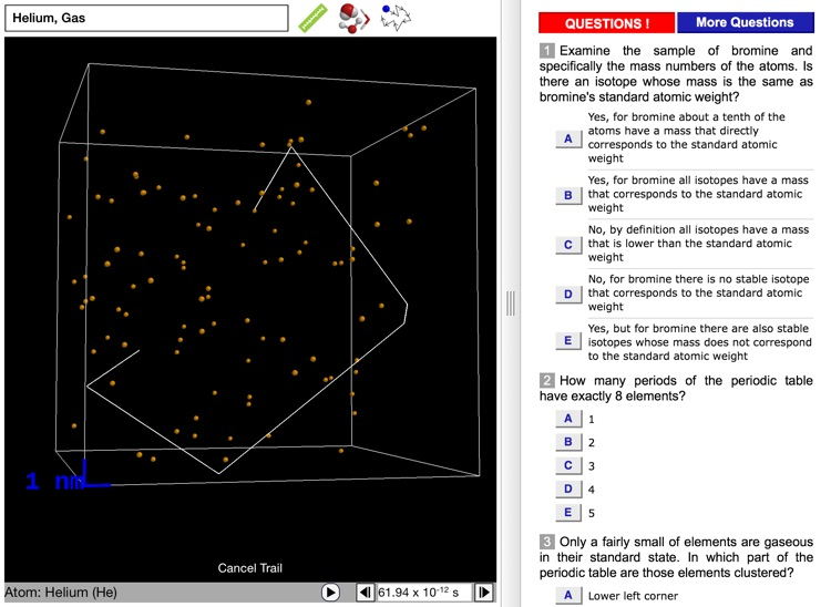 ODYSSEY Chemical Elements screenshot-3