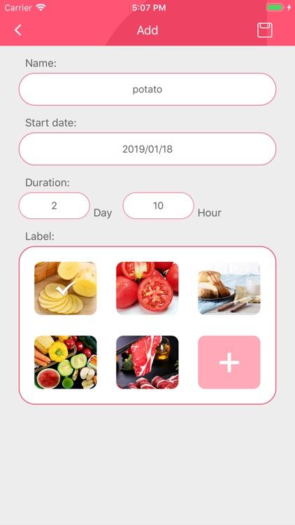 Food shelf life-Healthy diet