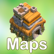 Map Layout for Clash of Clans icon