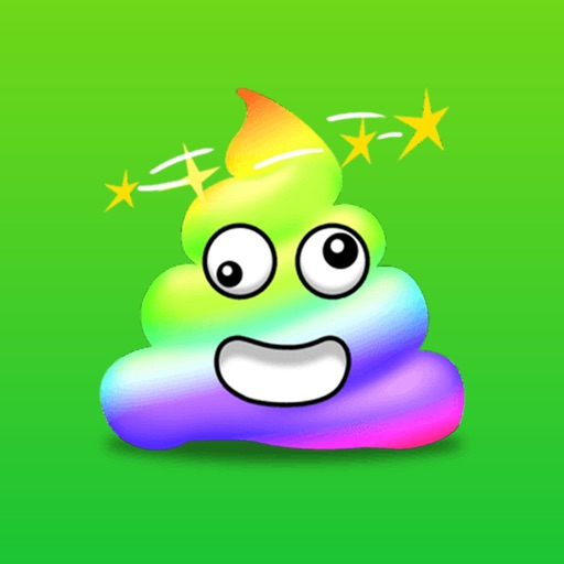 Color Poop Stickers