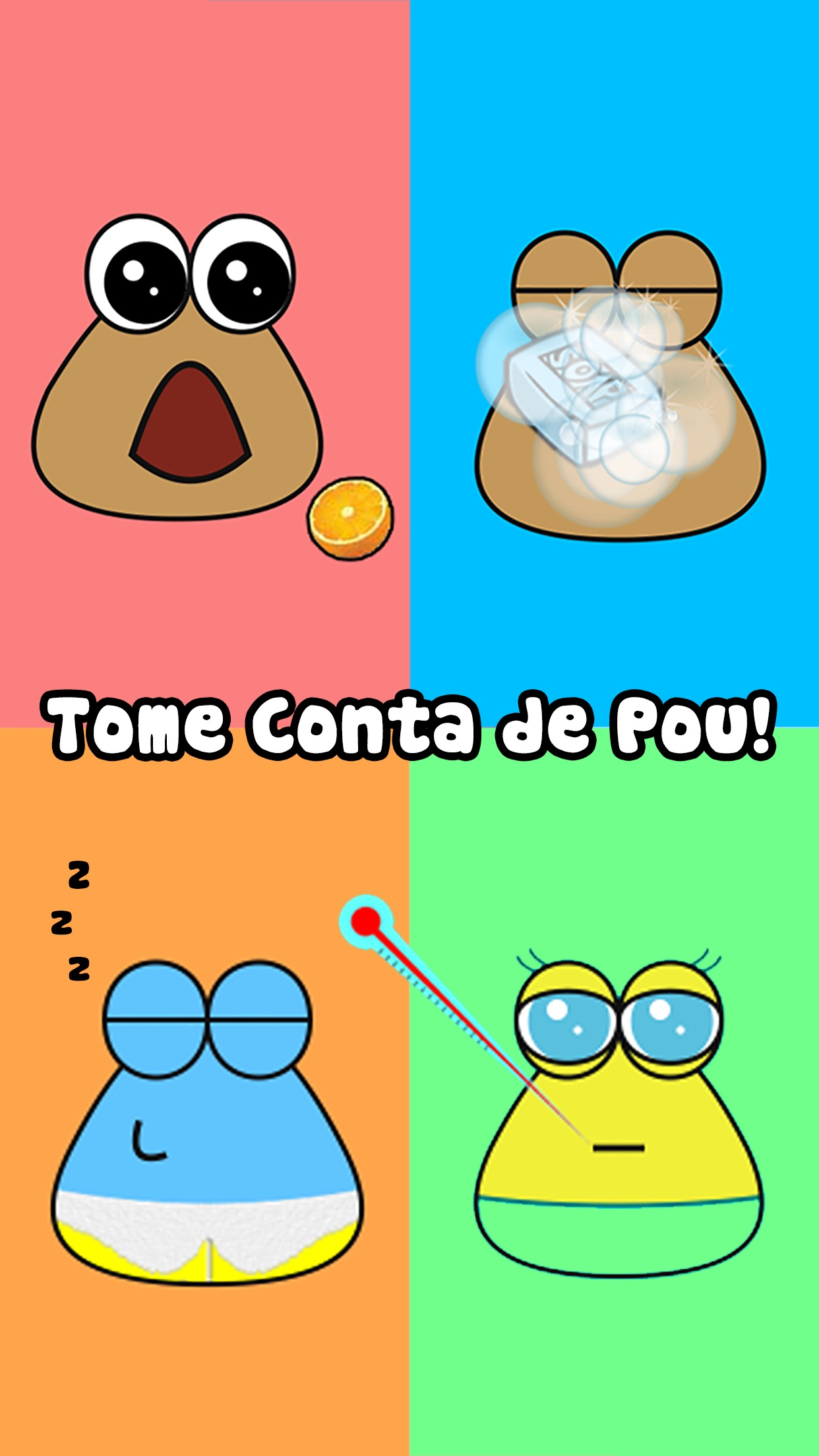 Screenshot do app Pou