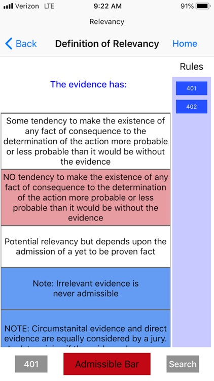 Federal Evidence Applied screenshot-5