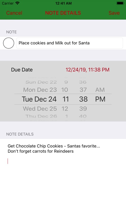 Christmas Organizer screenshot-8