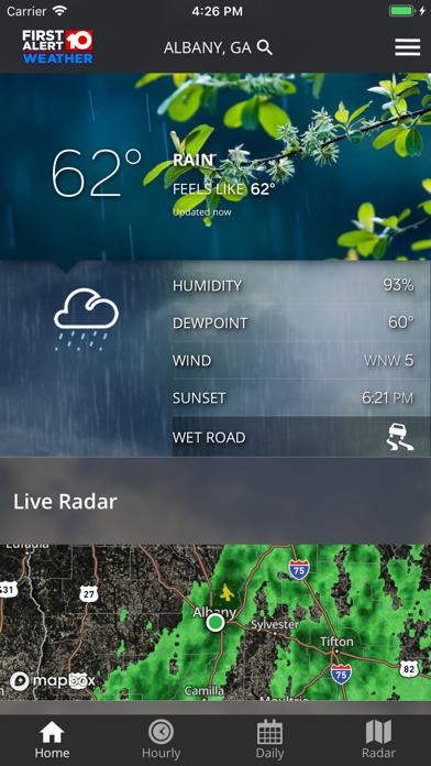 Walb First Alert Weather review screenshots