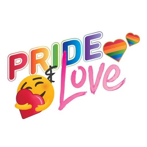 Pride and Love Giant Emojis