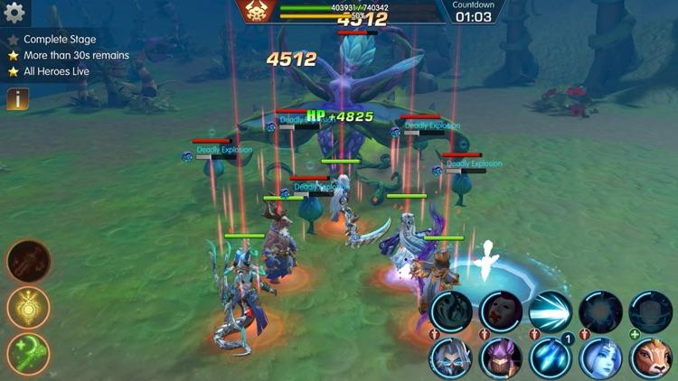 Sins Raid: Heroes of Light screenshot-6