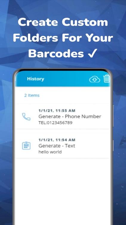 Barcode Reader & QR Generator screenshot-3