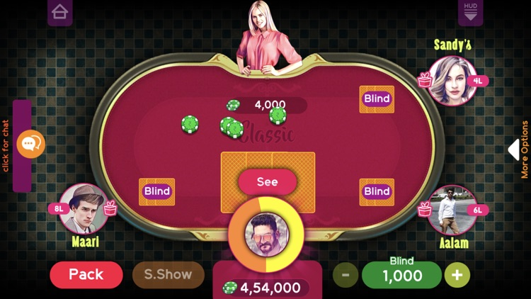 Teen Patti Platinum screenshot-2