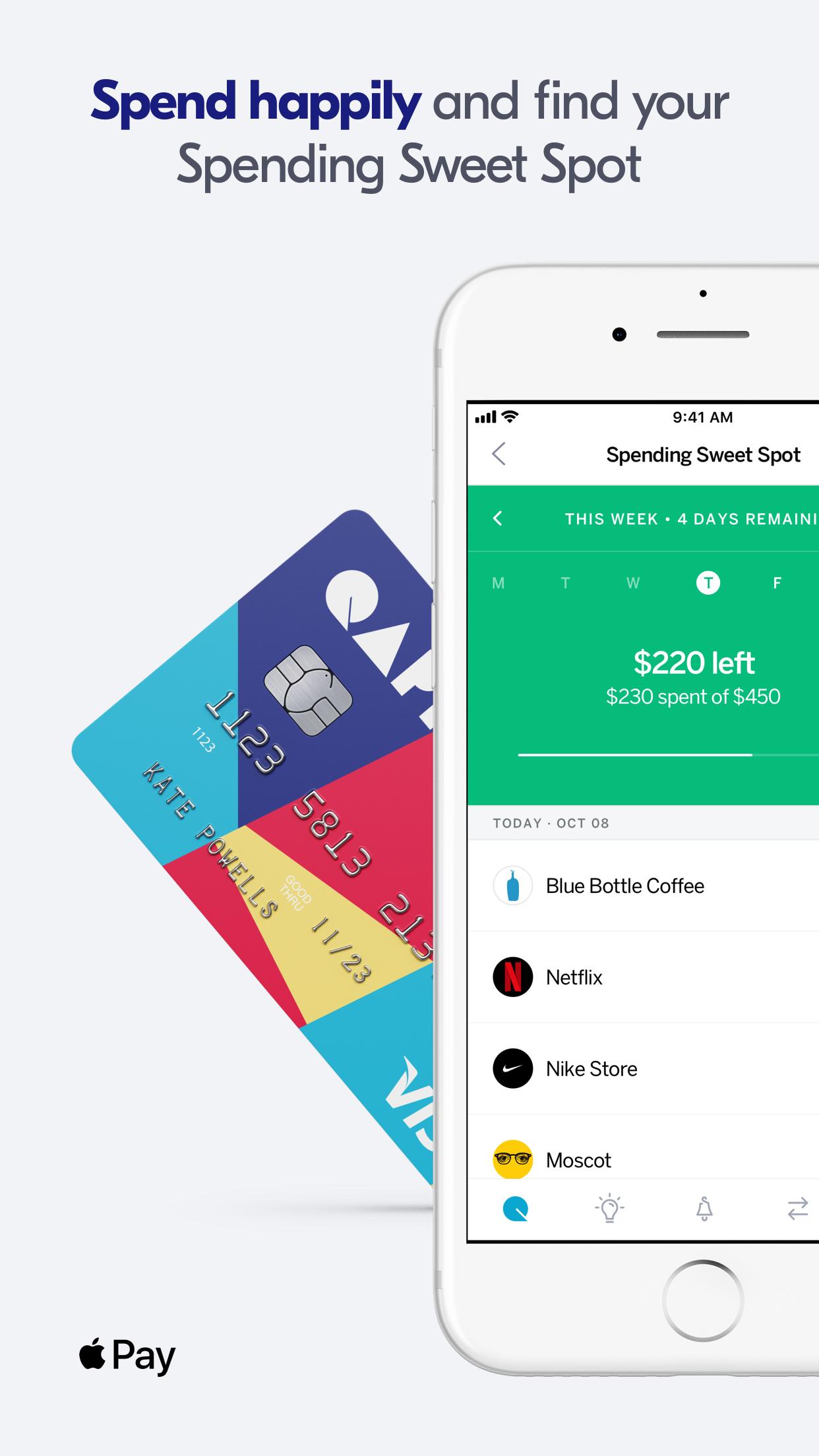 Qapital: Save. Invest. Spend. Screenshot
