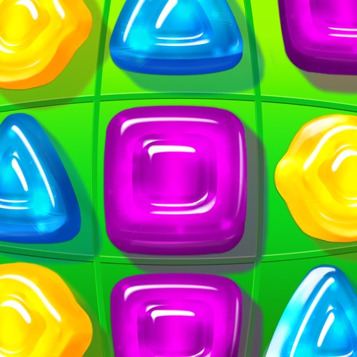 Gummy Drop! Match 3 Puzzles iOS App