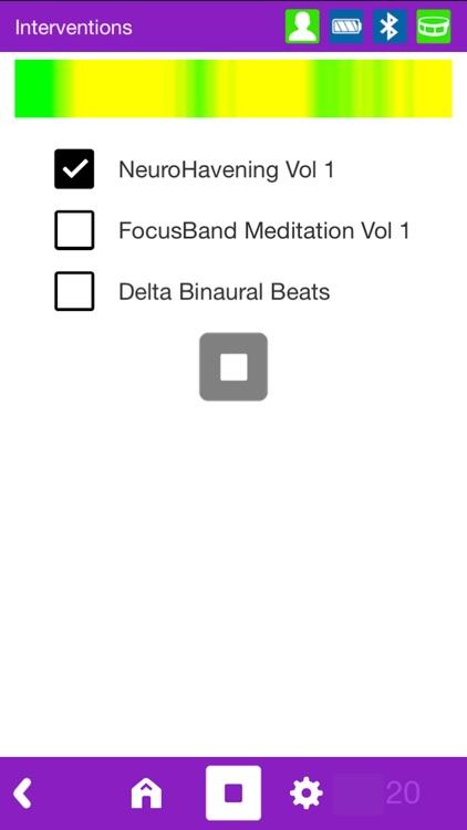 FocusBand NeuroSelfCare screenshot-6