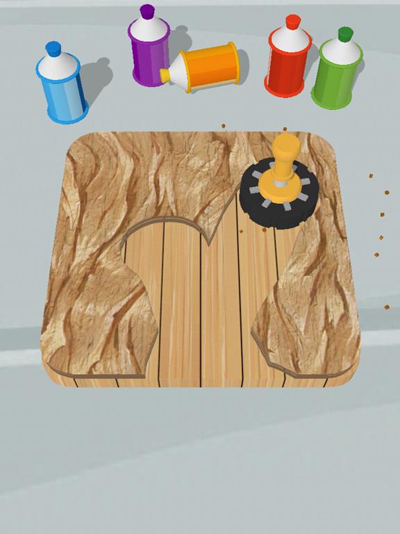 Cut and Paint iPad app afbeelding 1