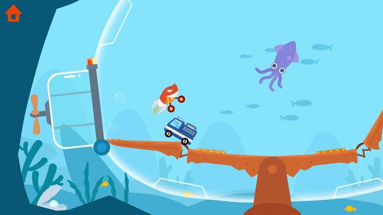 Dinosaur Smash: Bumper Cars screenshot-6