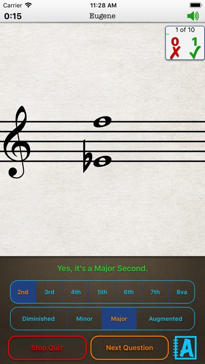Music Theory Intervals -iPhone screenshot-6