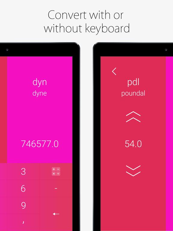 Convoto - Unit Converter Screenshots