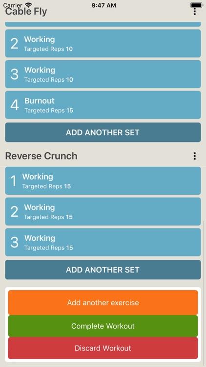 Gym Workout Tracker screenshot-4