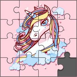 Kawaii Unicorn Jigsaw Puzzles
