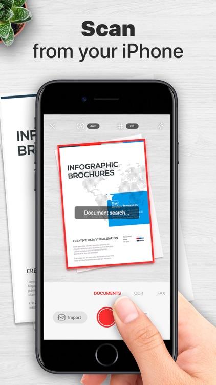 Document Scanner & Fax: ScanIQ screenshot-0
