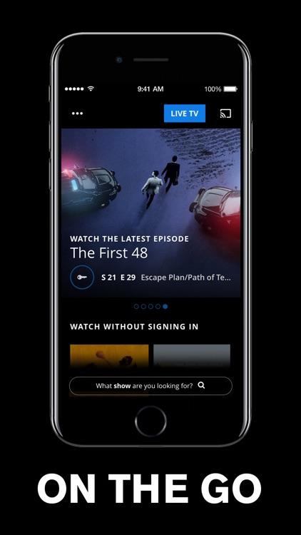 A&E - TV Shows & Full Episodes screenshot-5