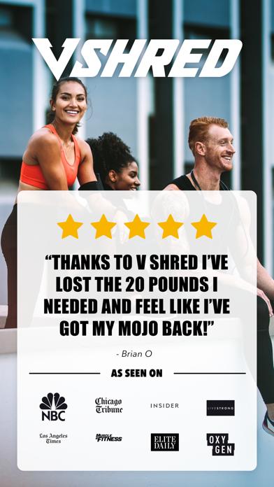 V Shred: Diet & Fitnessのおすすめ画像1