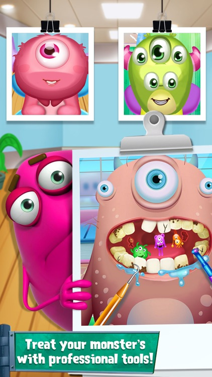 Monster Tooth Doctor Games screenshot-2