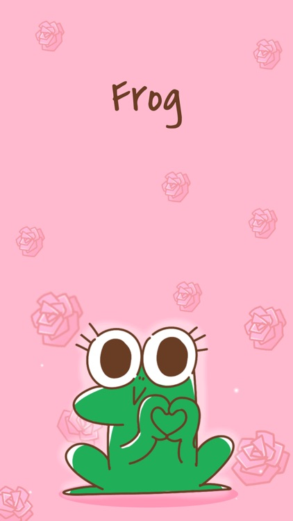 Funny Frog Animated Stickers screenshot-0