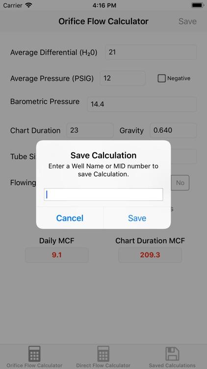 Orifice Flow Rate Calculator screenshot-6