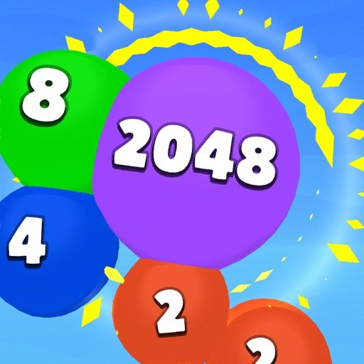 2048 Balloons 3D icon