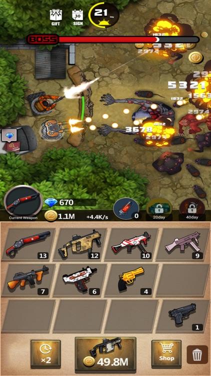 City Shooter- Zombie screenshot-3