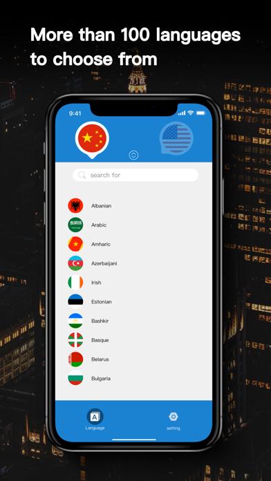 Translate - Speech & AR Screenshot