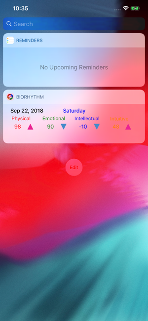 ‎BiorhythmΩ Screenshot