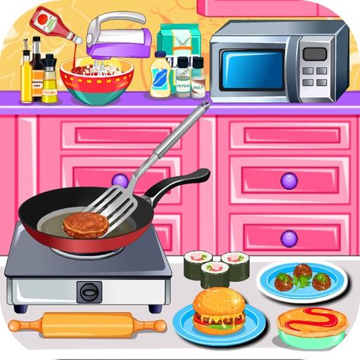 Игра о готовке вкусной пищи