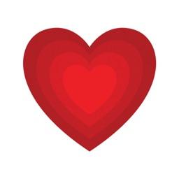 Hearts - Stickers & emoji Love