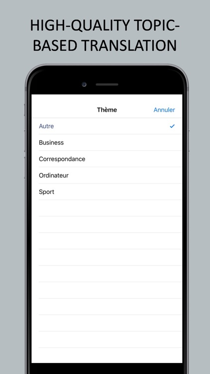 Translator English-French screenshot-3
