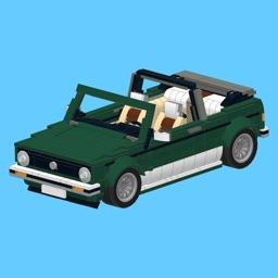 VW Golf for LEGO 10242 Set