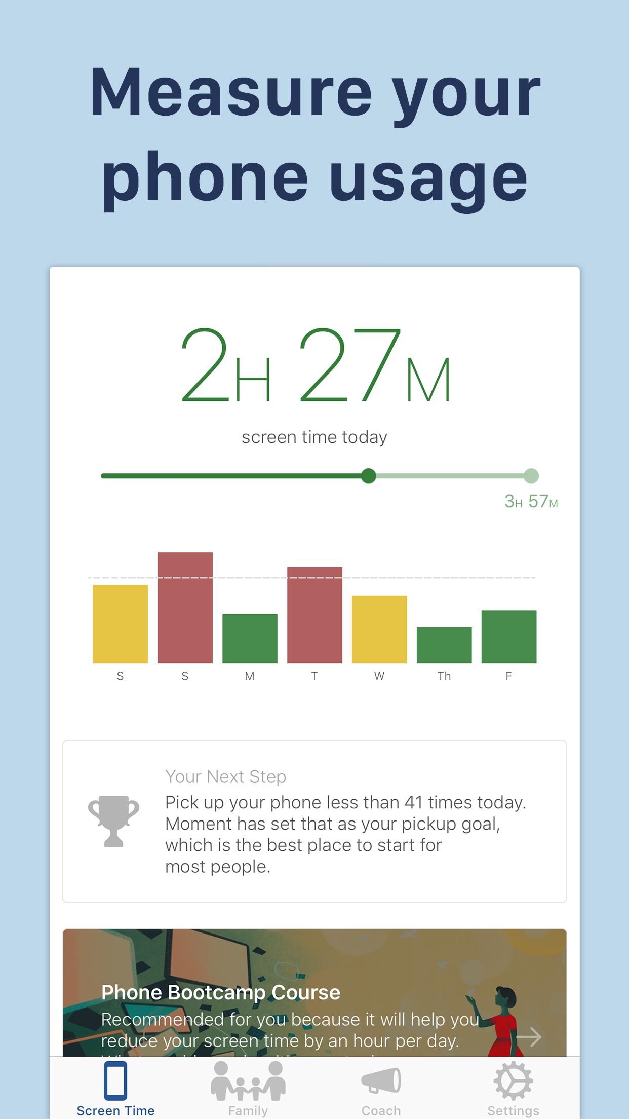 Moment – Balance Screen Time Screenshot