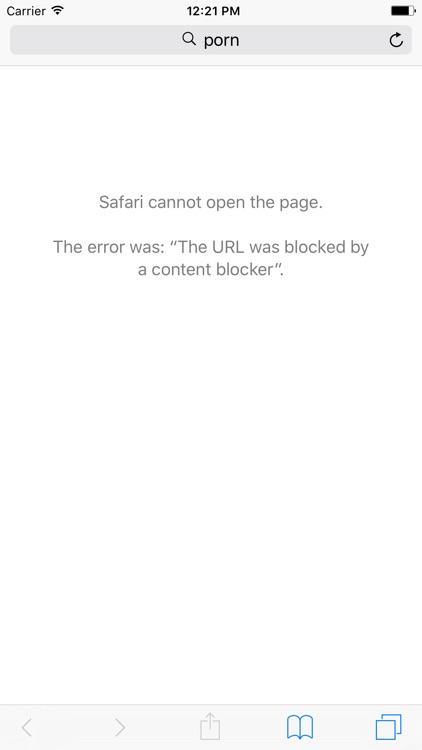 Porn Blocker Plus - for Safari screenshot-3