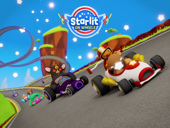 Starlit On Wheels: Super Kart на iPad