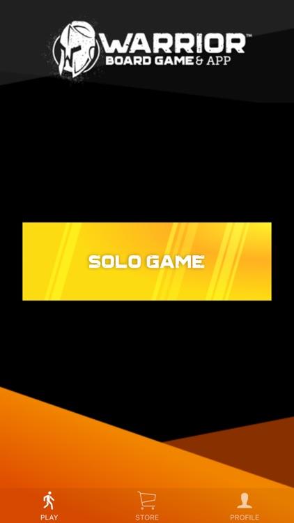 Warrior Game App