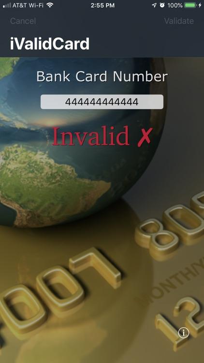 iValidCard screenshot-4
