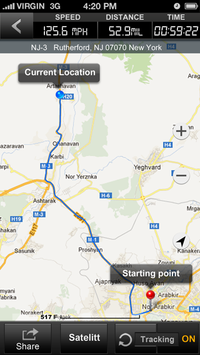Speedometer GPS+ (Car speedometer, Bike cyclometer) Screenshot 5