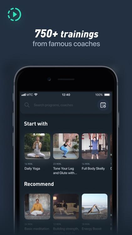 Motify - fitness and workout screenshot-3